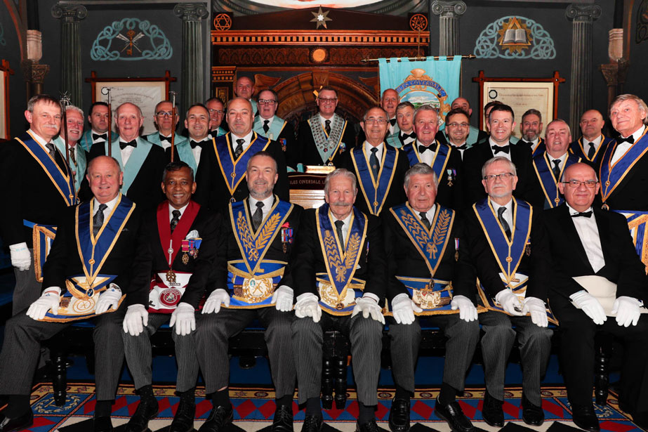 The members on our 90th Anniversary